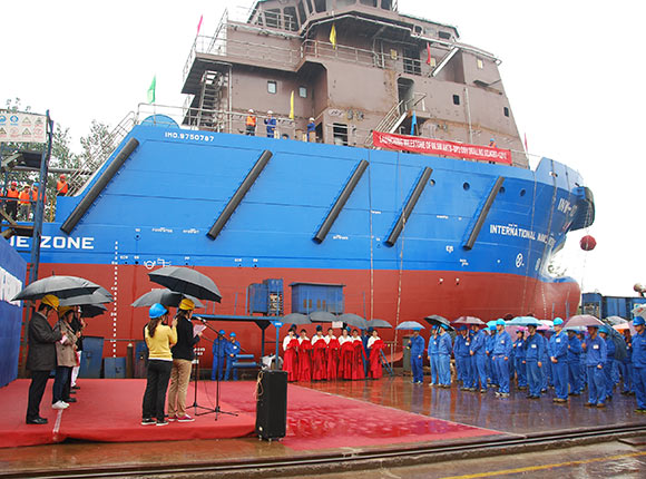 Launching of INW-10